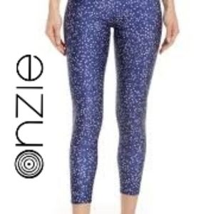 Onzie Flow Yoga High Waist Mid-Capris Leggings M/L
